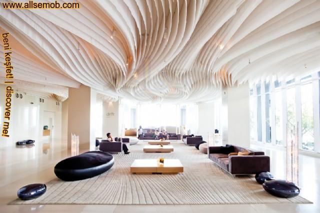 En Güzel Otel Lobi Koltuk Berjer Dekorasyon Modelleri Özel Üretim