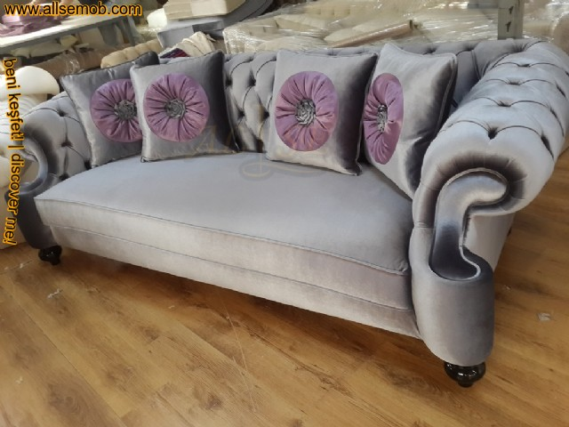 Frankfurt Chesterfield Couch Luxury Chester Kanepe