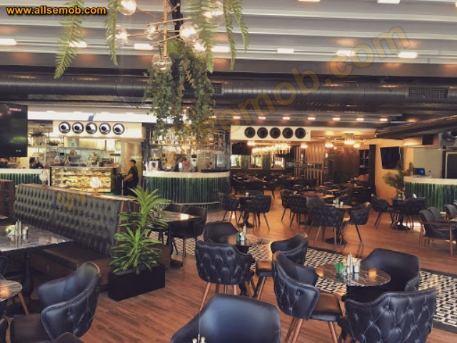 Lüks Restoran İç Tasarım Fikirleri Koltuk Masa Sandalye Berjer Puf