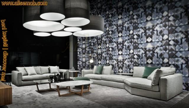Modern Lüks Koltuk Takımı Köşe Koltuk Özel Tasarım İç Dekorasyon