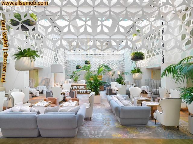 Otel Lobi Koltuk Tasarımları Özel Üretim Lüks Koltuklar