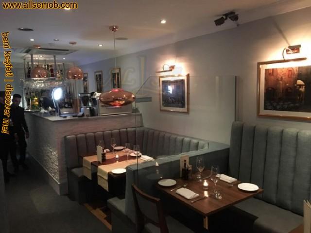 Baklava Dilimli Deri Sedir Koltuk Fabrikadan Özel Üretim Cafe Bar