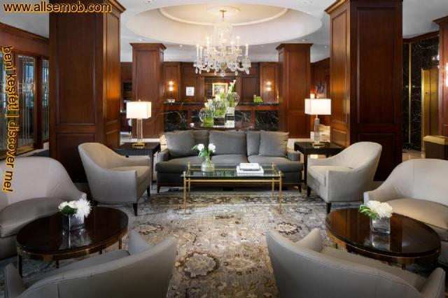 Lüks Otel Lobi Koltuk Takımı Dekorasyonu