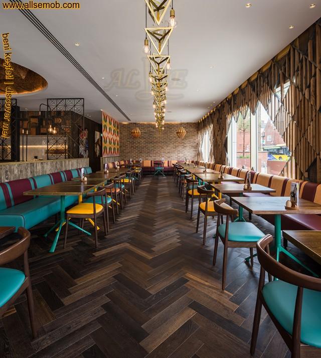 Modern Lüks Cafe Tasarımı