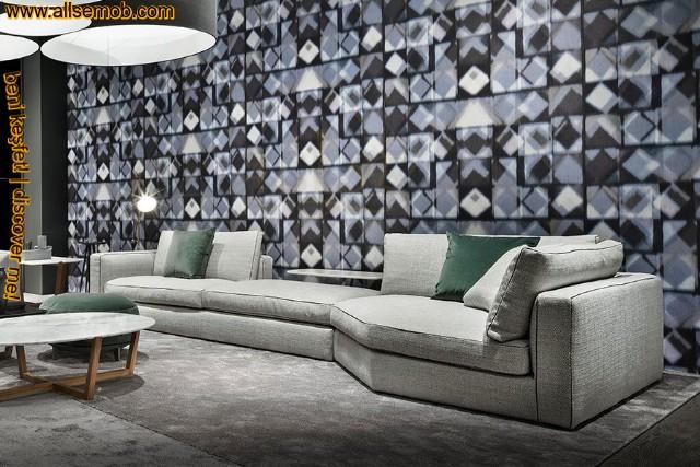 Modern Lüks Köşe Koltuk Özel Tasarım İç Dekorasyon
