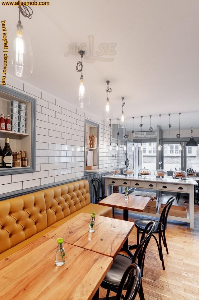 Özel Üretim Deri Sedir Koltuk Cafe Bar Restoran