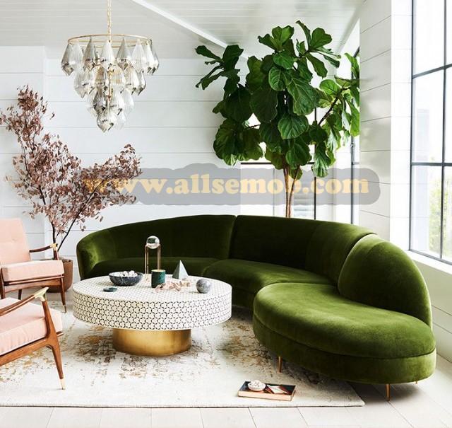 Yeşil S Koltuk Modeli Koltuk Dekorasyon
