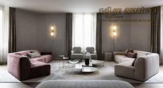 Modern Lüks Salon Oturma Grubu Koltuk Takımı Özel Şekil Tasarım