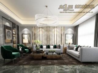 Lüks Modern Salon Oturma Grubu Koltuk Takımı Özel Üretim